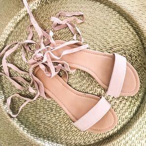 Asos wrap sandal